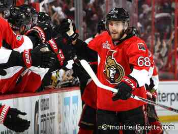 Mike Hoffman says he really wanted to play for the Canadiens