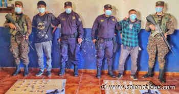 Cabecillas de la MS capturados cuando distribuían drogas en Nahuizalco - Solo Noticias