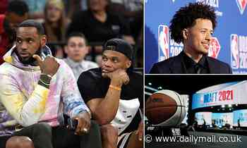 LeBron James's new sidekick? Lakers are 'nearing trade for Westbrook' ahead of NBA Draft