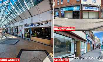 The devastating price of Covid lockdowns: Spectre of ghost shopping malls haunts Britain