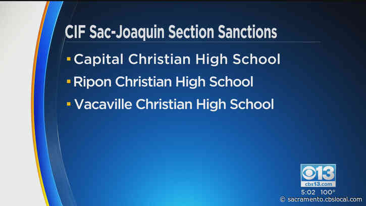 Sanctions Imposed On Local High Schools That Played Football While Competition Was Prohibited