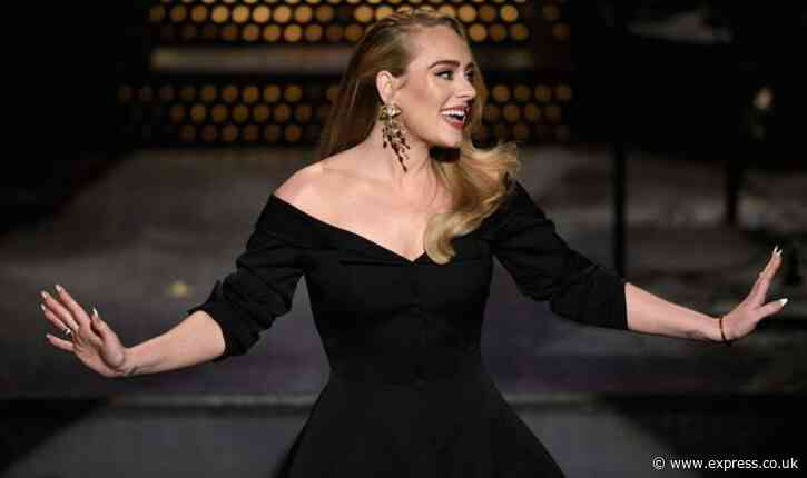 Adele 'due to return to the stage after four year absence in £100k residency slot' - Express
