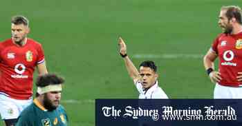 Rassie Erasmus offers to step down after hour-long tirade against Australian referee