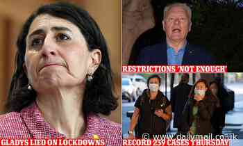 Gladys DID lie: Premier is scolded for claiming Sydney's lockdown is harshest in Australia Covid