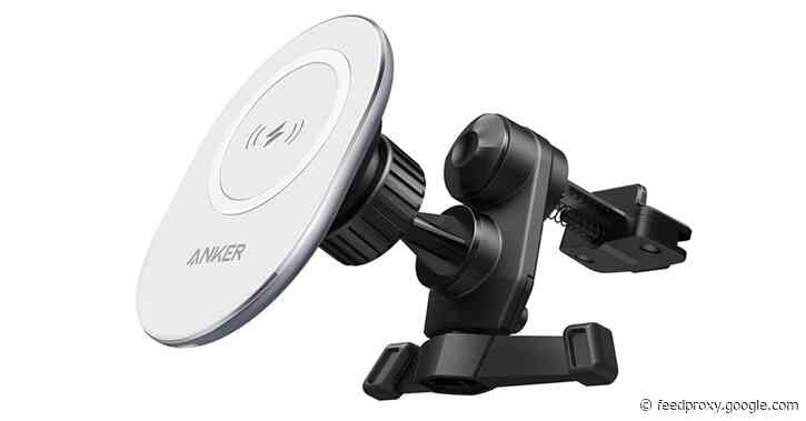 Anker expands PowerWave lineup with its very first MagSafe charger car mount