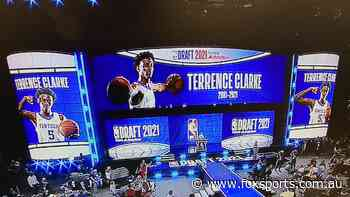 NBA Draft 2021: Who is Terrence Clarke?, tribute, car crash, family, reaction, honorary draftee, Adam Silver