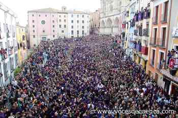 Tambores y clarines vuelven a sonar desde los balcones en el Viernes Santo conquense - Voces de Cuenca