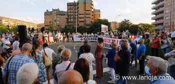 Nueva concentración contra 'Calles abiertas' con gritos de 'Alcalde, dimisión' - La Rioja