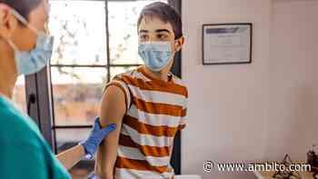 La Rioja fue una de las primeras provincias en inscribir a menores para recibir la vacuna contra el Covid-19 - ámbito.com