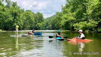 Urban kayaking on the Roanoke River: You don't know what you're missing - WSLS 10