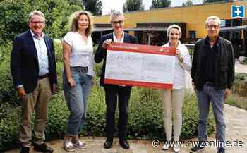 10 000 Euro für Hospiz in Cloppenburg: Spende lässt Wanderlicht strahlen - Nordwest-Zeitung