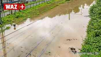 Hochwasser in Hattingen: Busse ersetzen weiterhin die S-Bahn - Westdeutsche Allgemeine Zeitung
