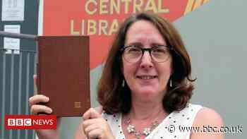 Library book returned 53 years late - with £20 note