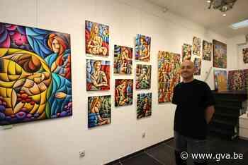 Mortsels kunstenaar opent eigen galerij in gaanderij Vapolé - Gazet van Antwerpen