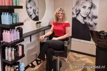 Amber van Ham opent haar eigen haarsalon aan de Beverhof in Winschoten - Het Streekblad
