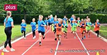 Sportler weihen Leichtathletikanlage in Walluf ein - Wiesbadener Kurier