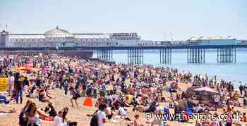 Tourists urged to use app showing Sussex beaches crowd levels