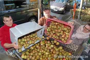 Mobiele fruitpers komt twee dagen naar Bornem
