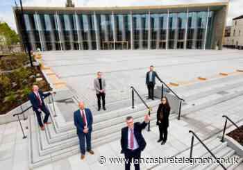 University of Central Lancashire celebrates opening of student centre