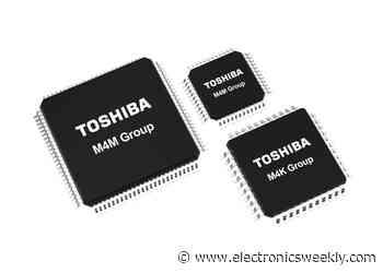 Toshiba adds to motor control MCUs