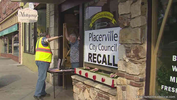 'Putting Their Feet To The Fire': Placerville Group Looks To Recall Nearly Entire City Council