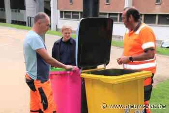 """Deze vuilnisbakken kan je niet missen: """"Hopelijk laten bezoekers het park nu wel netjes achter"""" - Het Nieuwsblad"""