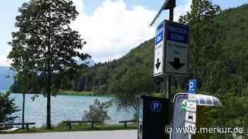 Wohnmobile am Walchensee: Gemeinde setzt Parkverbot durch - und erntet Zorn - Merkur.de