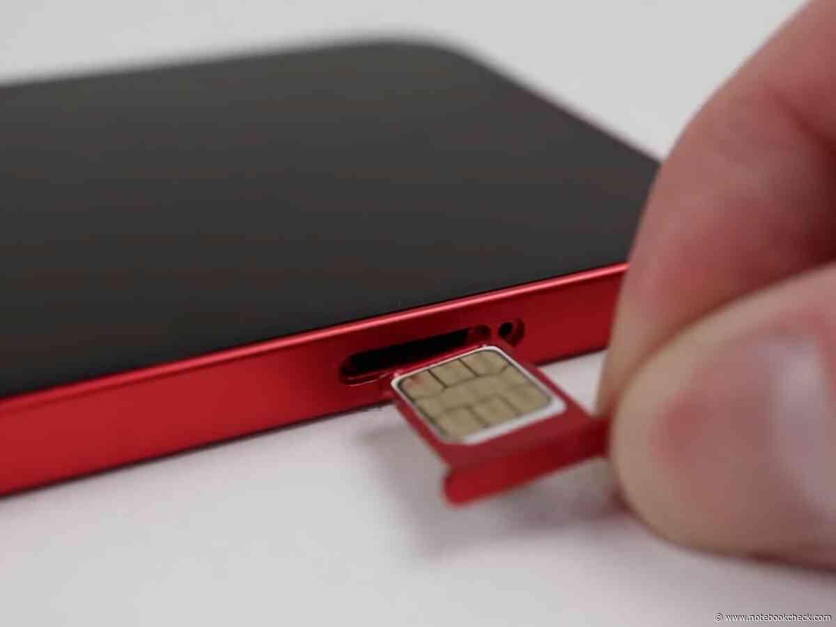 Einfach nachrüsten: So kann man das iPhone 12 mit zwei physischen Nano-SIM-Karten betreiben - Notebookcheck.com