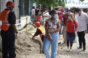 Arrancan obras de redes de acueducto en Malambo y Soledad - EL HERALDO