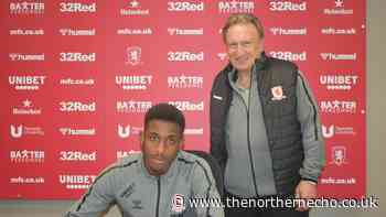 Middlesbrough receive multiple loan offers for youngster Isaiah Jones