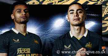 Newcastle United unveil new Castore away kit