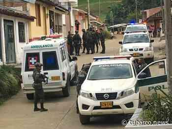 Disidencias habrían atentado contra la Policía en Bugalagrande, un muerto y cuatro patrulleros heridos - TuBarco