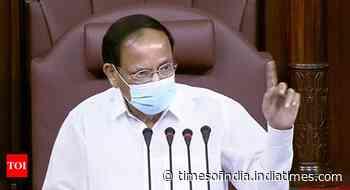 I've two options, allow this or take action: Venkaiah Naidu on ruckus in Rajya Sabha