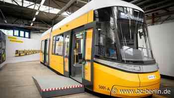Ein erster Blick auf die Tram der Zukunft - B.Z. Berlin