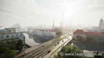 Jury fällt Entscheidung für Großprojekt in Berlin: So soll die neue Mühlendammbrücke aussehen - Tagesspiegel