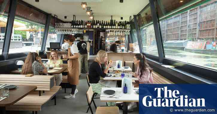 The Cheese Barge, London W2: 'Delicious daftness – restaurant review | Grace Dent on restaurants