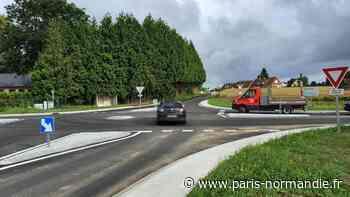 Entre Le Havre et Fécamp, la construction d'un rond-point pour éviter des accidents - Paris-Normandie