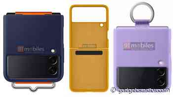 Samsung Galaxy Z Flip 3 Case Renders Surface, 3C Listing Suggests 25W Charging Support