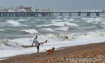 Brighton weather: Strong winds to batter city amid Storm Evert