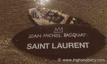 Jean-Michel Basquiat x Saint Laurent RIVE DROITE Collaboration - Highsnobiety