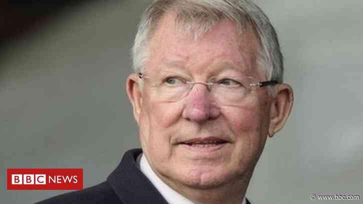 Sir Alex Ferguson: Statue commissioned by Aberdeen FC - BBC News