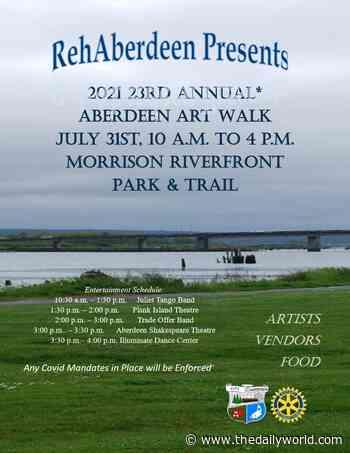 Aberdeen Art Walk at Morrison Riverfront Park July 31 - The Daily World