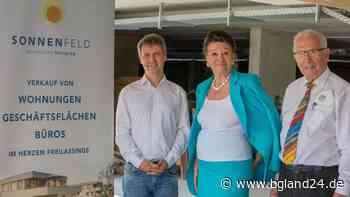 Freilassing: Richtfest im Wohnpark Sonnenfeld - Ein gutes Jahr nach Spatenstich - bgland24.de