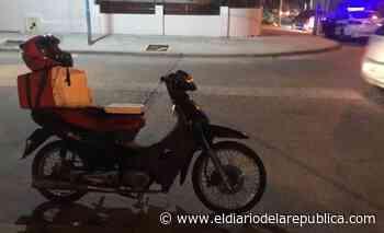 Villa Mercedes: dos motochorros intentaron robarle a un delivery - El Diario de la República