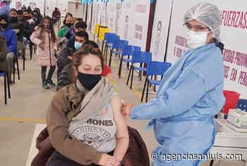 Nueva jornada de vacunación en Villa Mercedes con más de 2.800 convocados - Agencia de Noticias San Luis