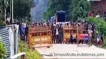 Assam Police at Mizoram House to serve notice to Rajya Sabha MP K Vanlalvena