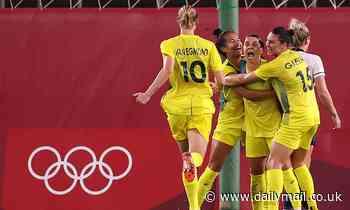 Sam Kerr stars as the Matildas beat Great Britain to make their first ever Olympics semi final