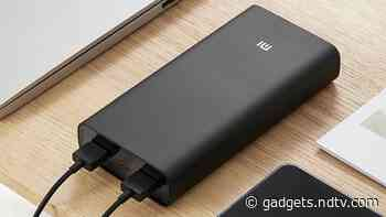 Mi HyperSonic Power Bank With 50W Fast Charging, 20,000mAh Capacity Launched in India