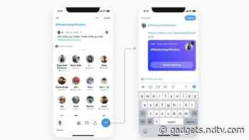 Twitter Spaces Update Brings New Tweet Composer, Search Feature for Live Spaces