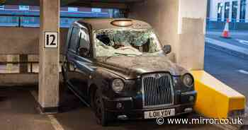 Inside mystery car park that's become graveyard for London's iconic black cabs